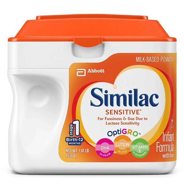 Similac Sensitive infant formula review