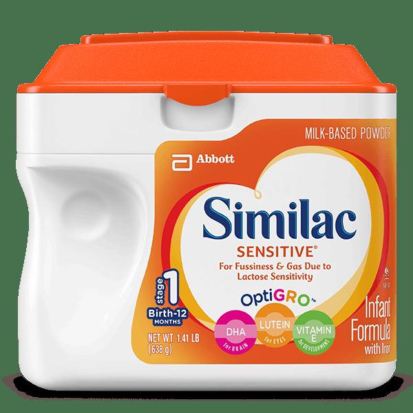 Mom's Review of Similac's Sensitive Infant Formula
