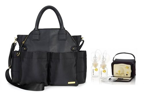 Bags and breat pumps for mom