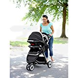 Image of the Graco Fastaction Fold Jogger Click Connect Baby Travel System, Gotham