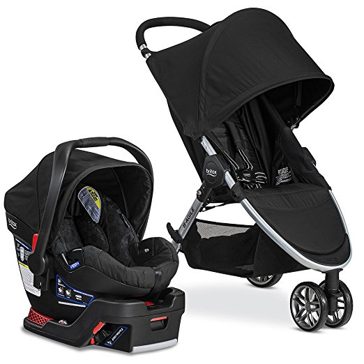 image of the britax b-agile baby travel system for Cyber Monday