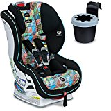 Image of the Britax Boulevard ClickTight Convertible Car Seat With Black Cup Holder, Vector