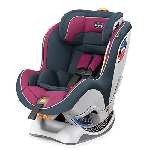 Image of the Chicco Nextfit Convertible Carseat, Purple