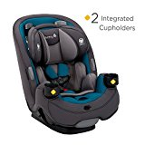 Image of the Safety 1st Grow and Go 3-in-1 Convertible Car Seat, Blue Coral