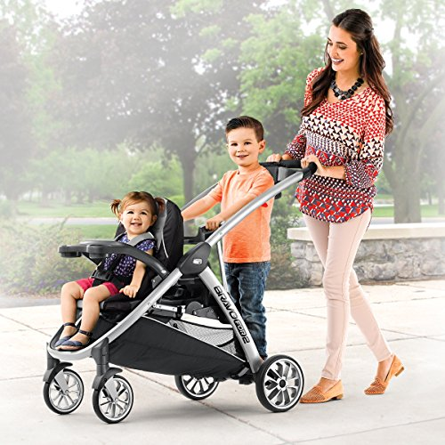 Review of the Chicco Bravo For2 Sit and Stand Stroller