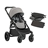 Image of the Baby Jogger 2017 City Select LUX Stroller WITH LUX Bench (Slate)