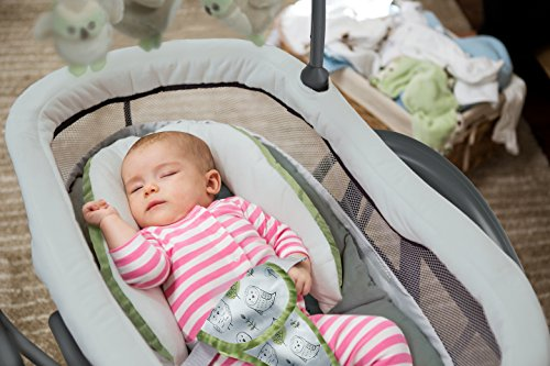 Image of the Graco DreamGlider Gliding Swing and Sleeper, Percy
