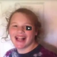 Anna has Angleman Syndrome and answers the question, do you want to go to Fazoli's?