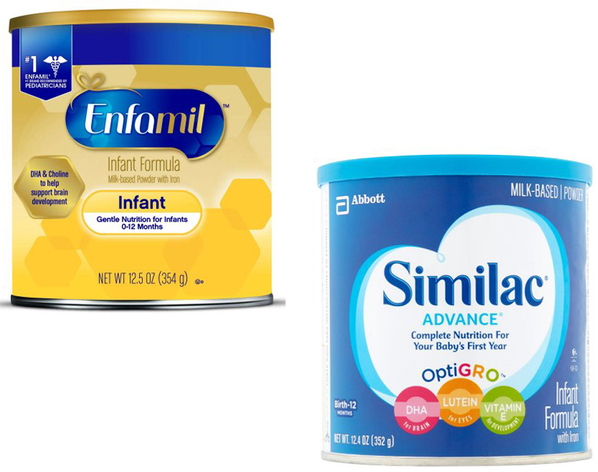 Enfamil Vs Similac Which Is The Best Baby Formula Experienced Mommy