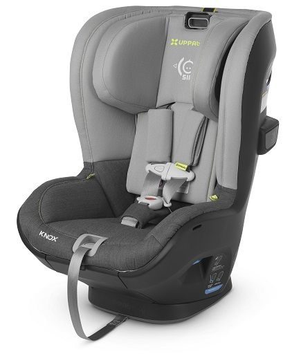 Image of the UPPAbaby Knox convertible car seat in grey