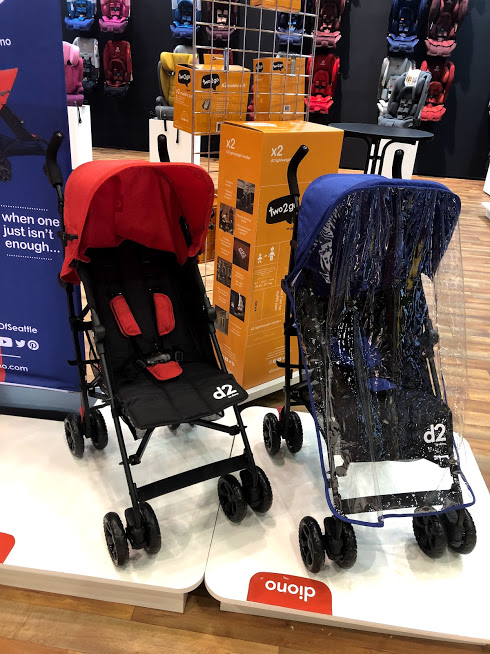best baby products - Diono two2go Strollers