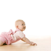how to help baby crawl